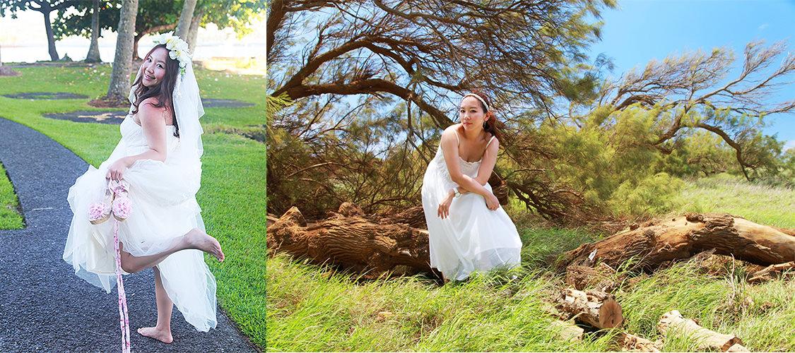 質感人妻Eva Lee-夏威夷自助婚紗
