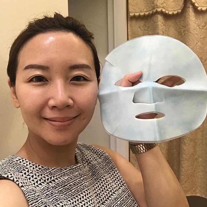 推薦貴婦級的面膜享受,讓你臉部保濕又能泡美容湯的凡維思Vibex冰川沁潤水導膜心得分享