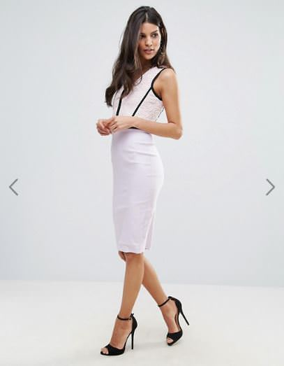 ASOS品牌推薦,英國當地品牌-Vesper,推薦他們家超有設計感、顯瘦的洋裝