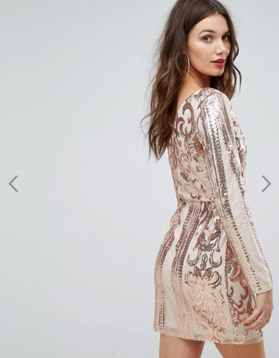推薦ASOS必買品牌,分享華麗性感蕾絲/亮片洋裝品牌 Love triangle