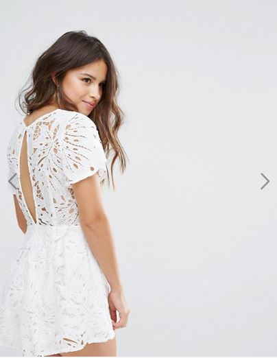ASOS品牌推薦,分享華麗性感蕾絲/亮片洋裝品牌 Love triangle