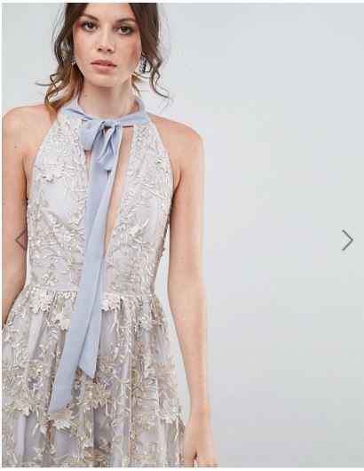 ASOS品牌推薦,分享仙女氣質蕾絲洋裝品牌 True Decadence