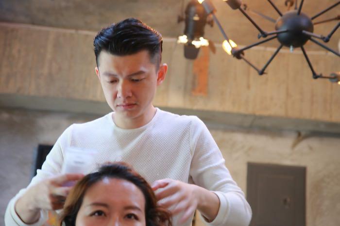 [美髮] 換個新髮型,好事會發生,推薦台北大安區捷運科技大樓站「地點D-dot Studio 」美髮沙龍的染髮/燙髮/剪髮服務