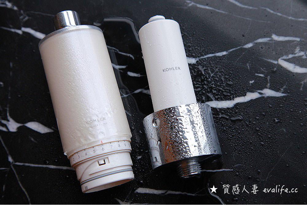 【COSTCO】減少小孩皮膚過敏,Kohler Exhale 沐浴軟水過濾器使用心得