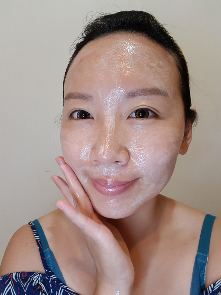 美麗不費力的網美=LANAMI懶人必備糖瓷溫感煥膚洗澡面膜+IG打卡專用魔力唇油