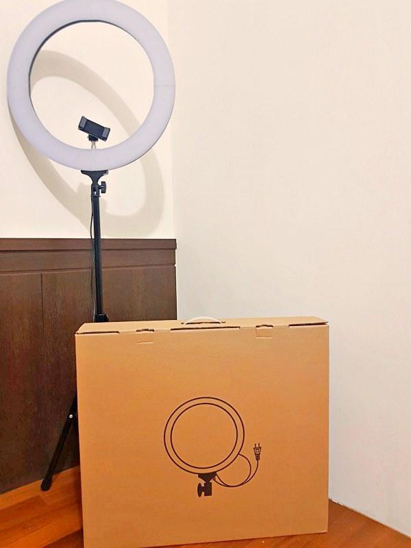 Youtuber部落客直播必備器材,推薦台廠監製KINGBEST環形燈