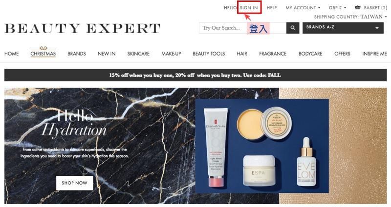 Beauty Expert註冊步驟教學,中英對照教你輕鬆使用英國購物網站寄台灣