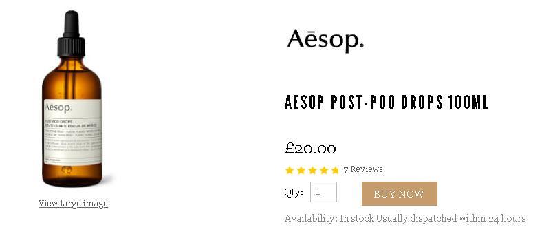 AESOP折扣碼分享,讓你用7折買到和台灣價差超大的伊索精油跟乳液