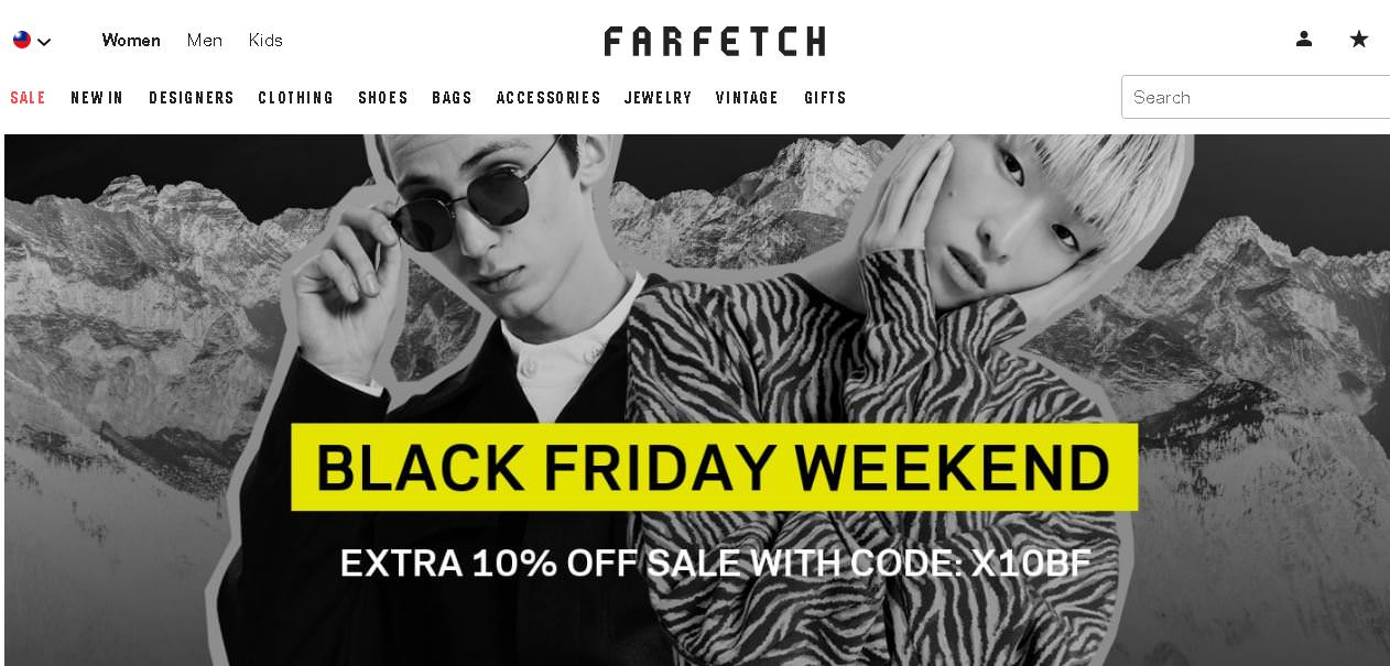 farfetch 折扣碼推薦碼分享,2019歐美網購精品最低7折+推薦品牌商品