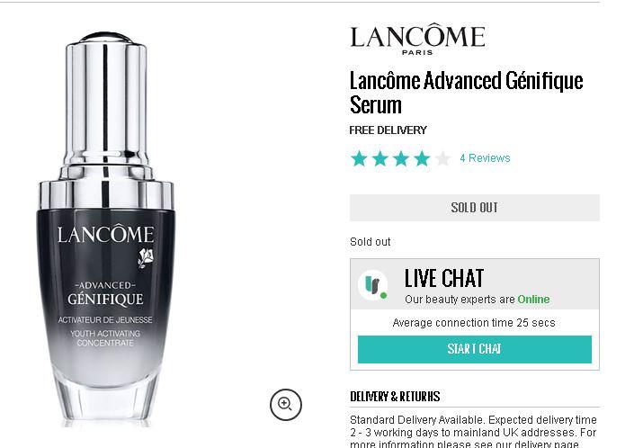 蘭蔻Lancome折扣碼,黑五最低75折!入手小黑瓶跟卸眼唇液吧!
