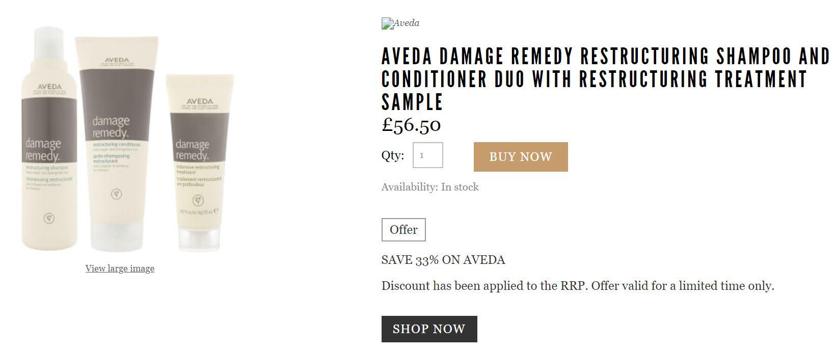 Aveda肯夢折扣碼分享,歐美網購洗髮精最低七折!一起來剁手吧