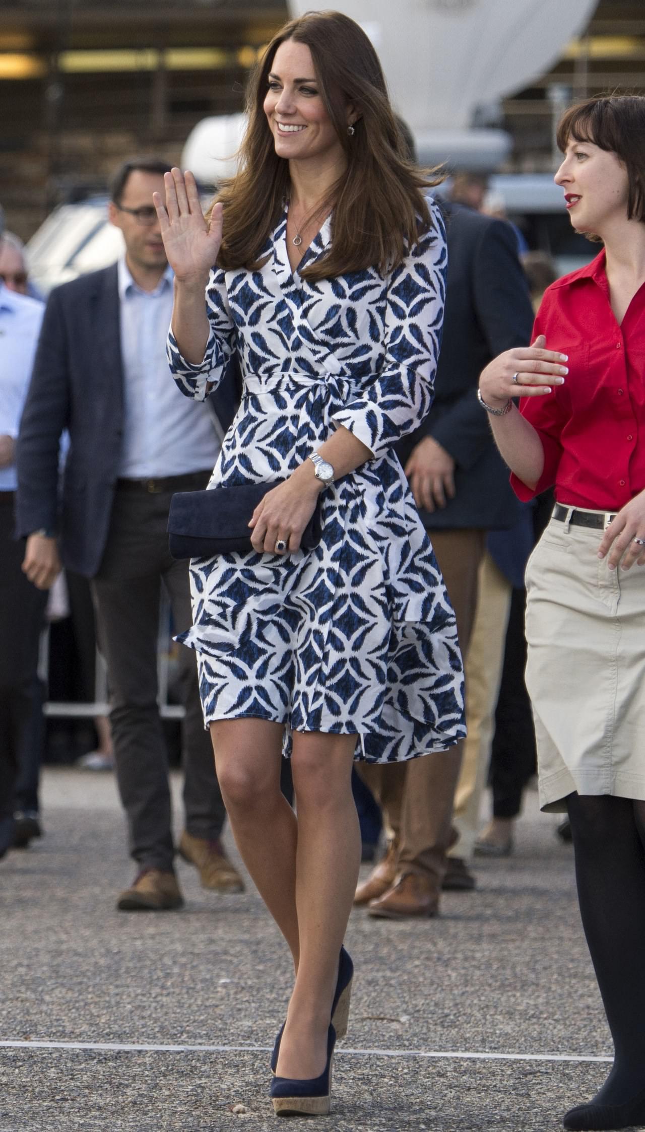 凱特王妃愛牌-Diane von Furstenberg (DVF) ,讓女人一秒卸下偽裝,露出性感的wrap dress