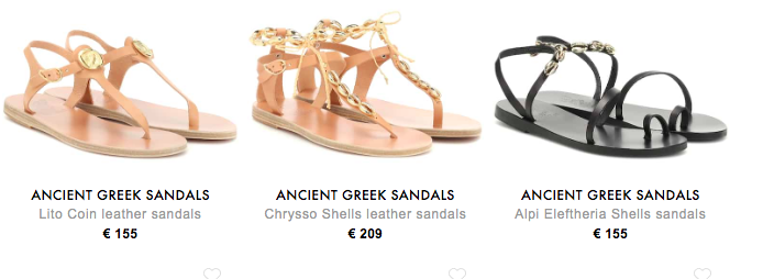 ANCIENT GREEK SANDALS,IG網美最愛這個來自希臘的天使翅膀羅馬涼鞋品牌