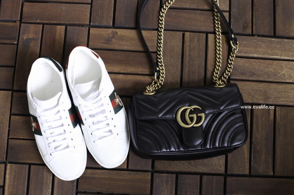 【精品鞋開箱】Gucci Ace 蜜蜂鞋穿搭分享,如何挑尺寸?在哪裡買最划算呢?