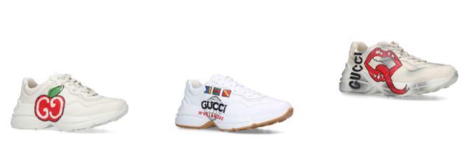 GUCCI 小白鞋/ 老爹鞋退稅價格分享,歐美直寄台灣含關稅,尺寸這樣子挑不會錯