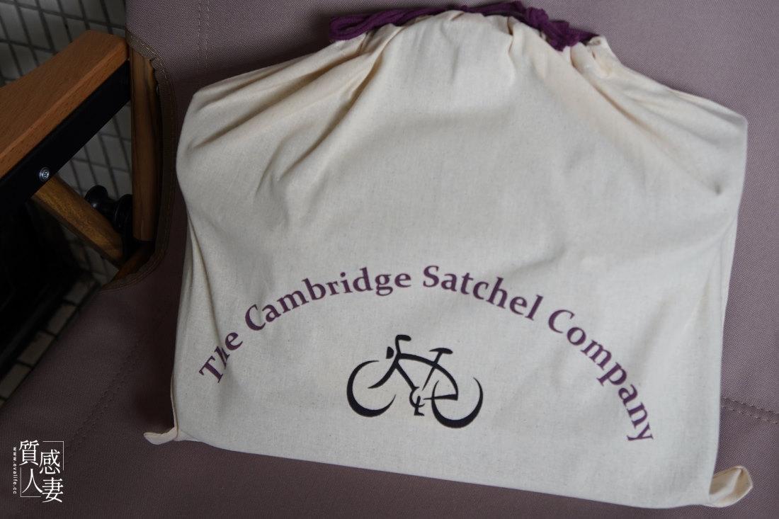 文青最愛包 ! 開箱英國品牌劍橋包The Cambridge Satchel Company