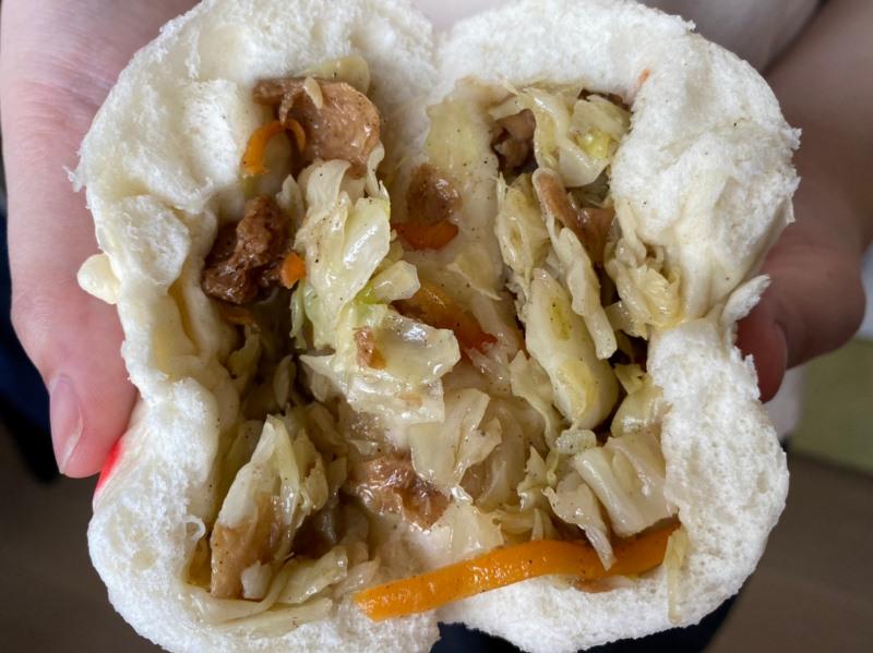新北美食早餐推薦 超鬆軟的宜蘭福氣包子,位於亞東技術學院附近的板橋瑞億市場,但地址可是在土城區的唷