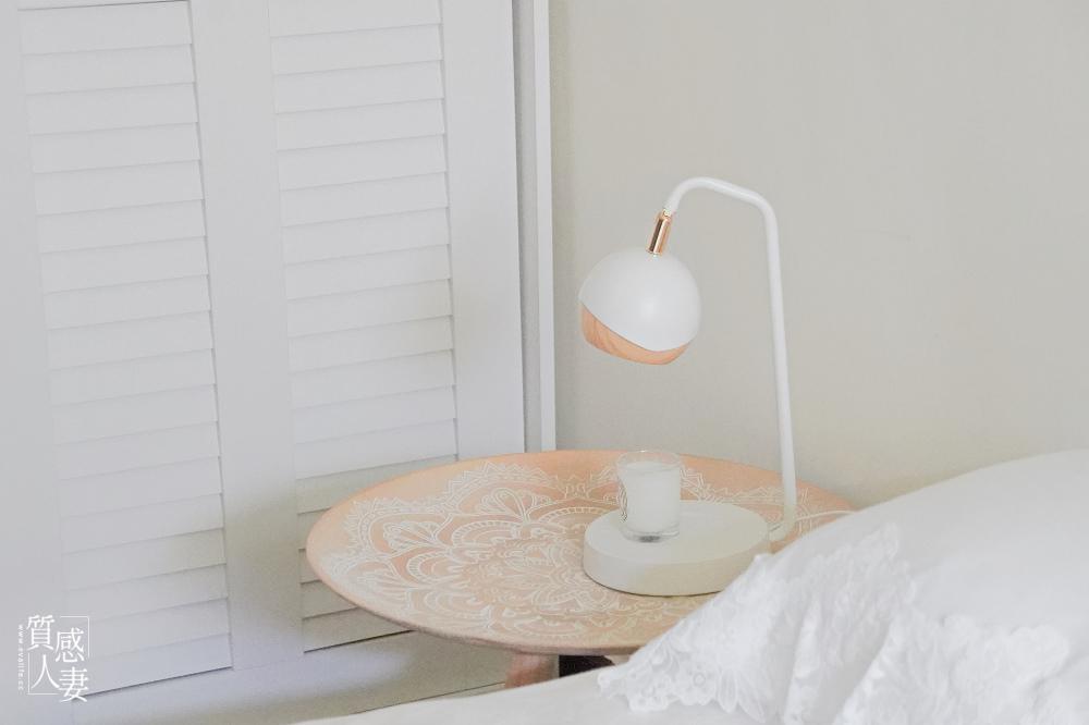 融蠟燈品牌推薦USERWATS ,純白原木HANA歐美系IG風小夜燈,適合白白的房間