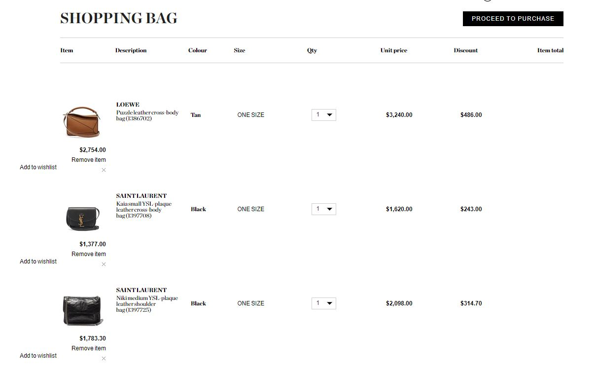 Matchesfashion 新帳戶首購折扣碼85折,YSL/LOEWE 部分開放打折,三宅一生包與鞋都可以打折