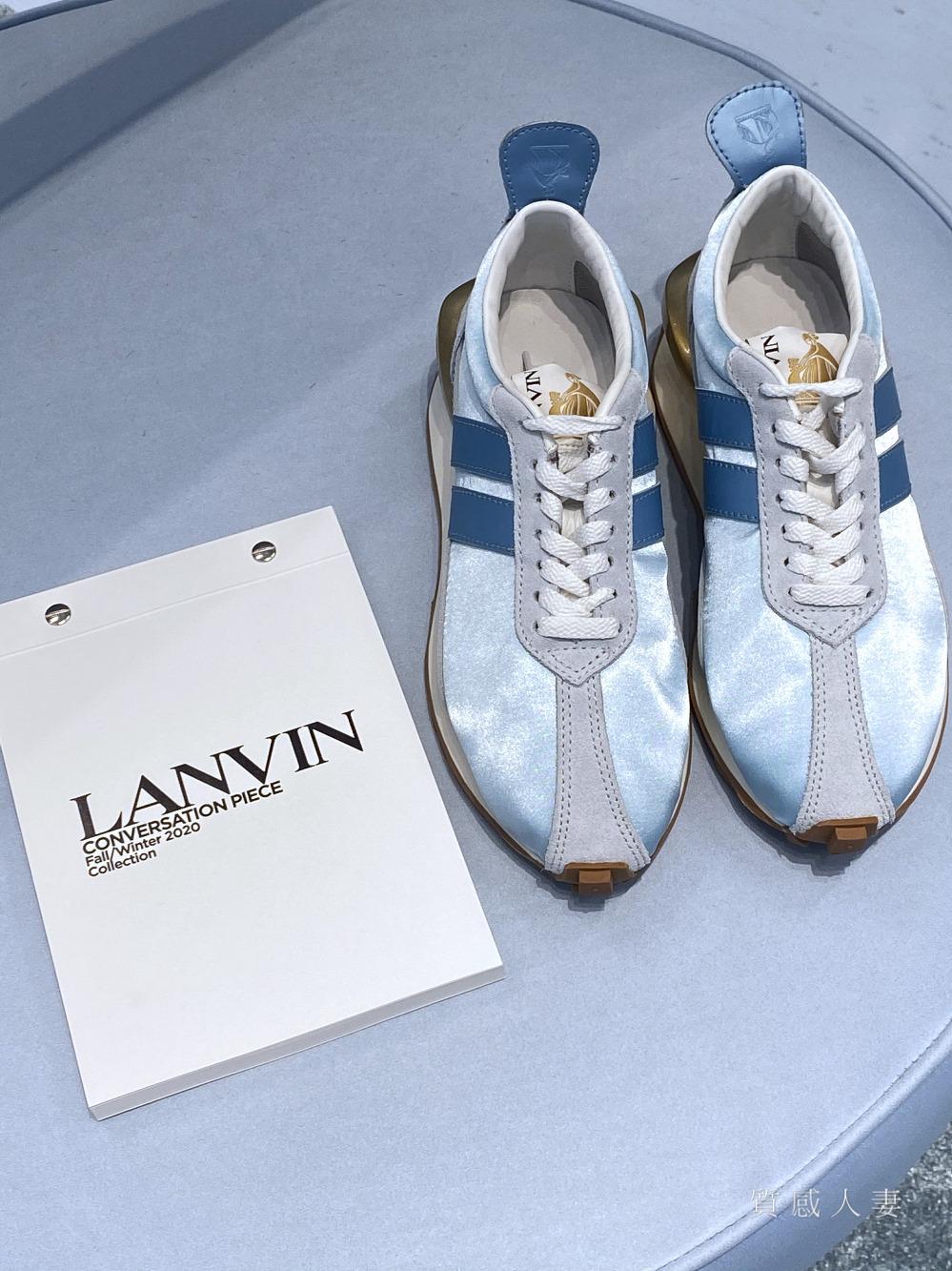 【百貨專櫃】沒想到這麼多明星網紅來呢,為了法國百年品牌LANVIN浪凡在台北信義新天地A9館的快閃店