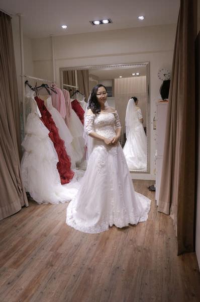 第九大道婚紗試穿-拍照